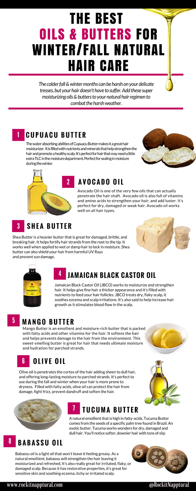 Natural Oils That Are Good For Your Hair